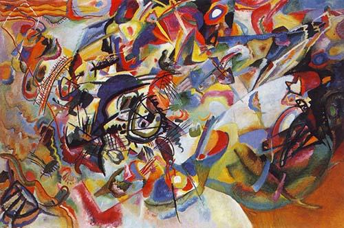 70554 Kandinsky Paintings oil paintings for sale