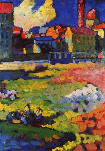 70557 Kandinsky Paintings oil paintings for sale