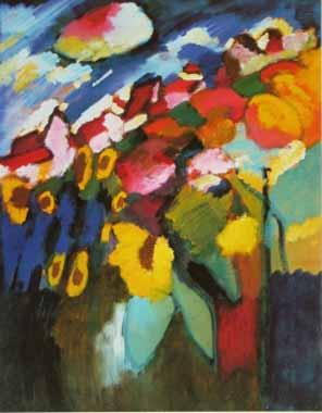 70563 Kandinsky Paintings oil paintings for sale