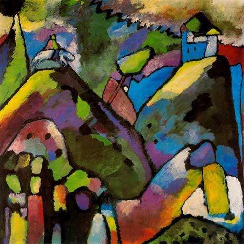 70573 Kandinsky Paintings oil paintings for sale
