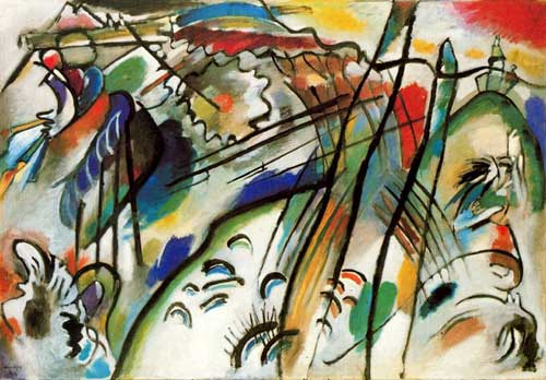 70581 Kandinsky Paintings oil paintings for sale