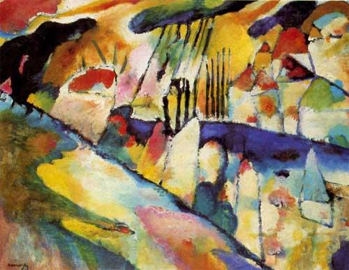 70582 Kandinsky Paintings oil paintings for sale