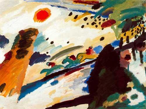 70585 Kandinsky Paintings oil paintings for sale
