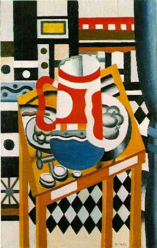 Oil Paintings Production:Leger, Fernand(France) - Still Life with a Beer Mug hspace=