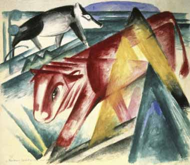 70615 Franz Marc Paintings oil paintings for sale