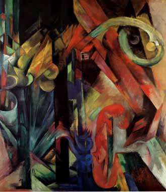 70617 Franz Marc Paintings oil paintings for sale