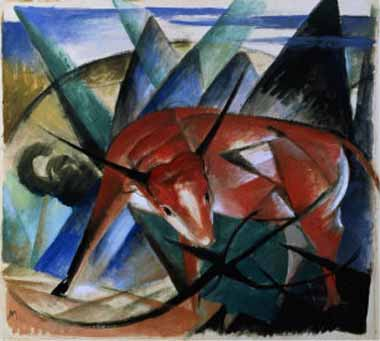 70619 Franz Marc Paintings oil paintings for sale