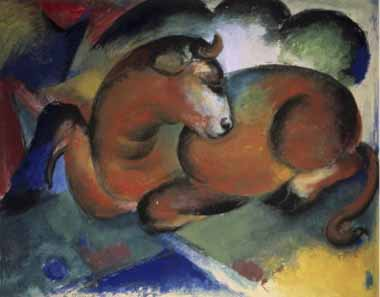 70620 Franz Marc Paintings oil paintings for sale
