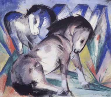70623 Franz Marc Paintings oil paintings for sale