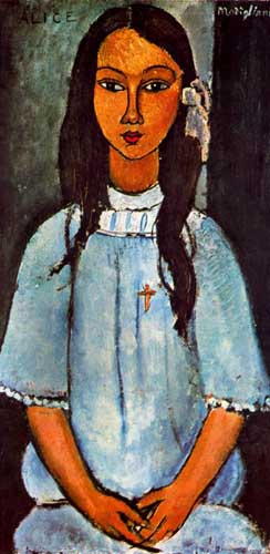 70818 Modigliani Paintings oil paintings for sale