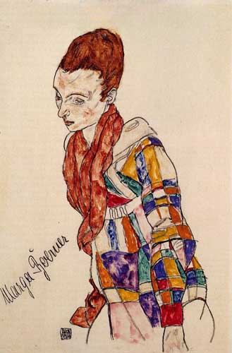 70928 Egon Schiele Paintings oil paintings for sale