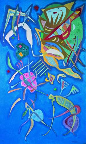 70974 Kandinsky Paintings oil paintings for sale