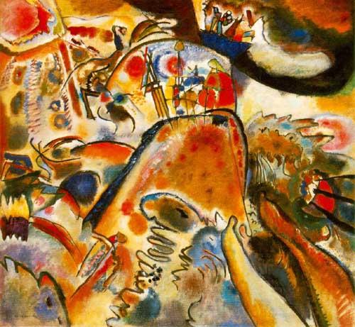 70985 Kandinsky Paintings oil paintings for sale