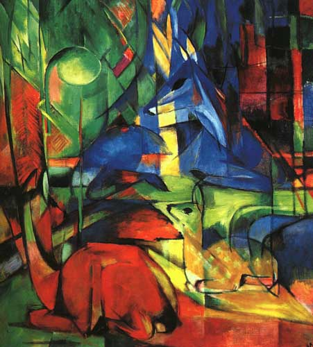 7102 Franz Marc Paintings oil paintings for sale