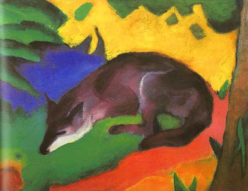 7103 Franz Marc Paintings oil paintings for sale