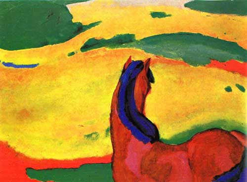 7143 Franz Marc Paintings oil paintings for sale