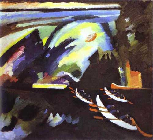 7345 Kandinsky Paintings oil paintings for sale