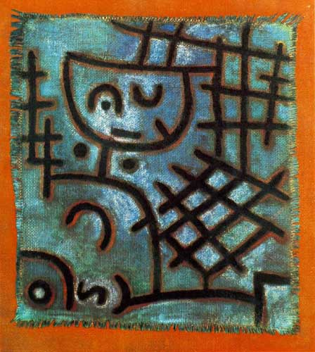 7383 Paul Klee Paintings oil paintings for sale