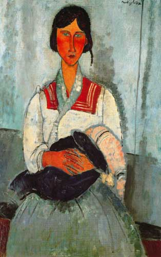 7427 Modigliani Paintings oil paintings for sale