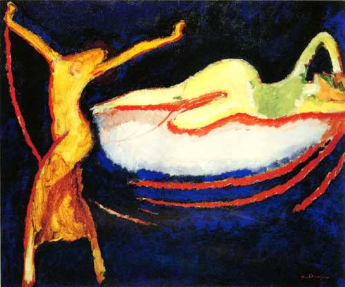Oil Paintings Production:Dongen, Kees van(Fauvism): Souvenir of the Russian Opera Season