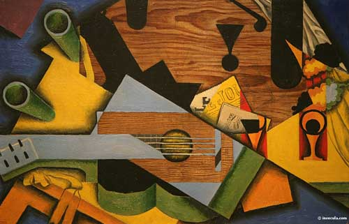 Oil Paintings Production:Juan Gris: Still Life with a Guitar hspace=