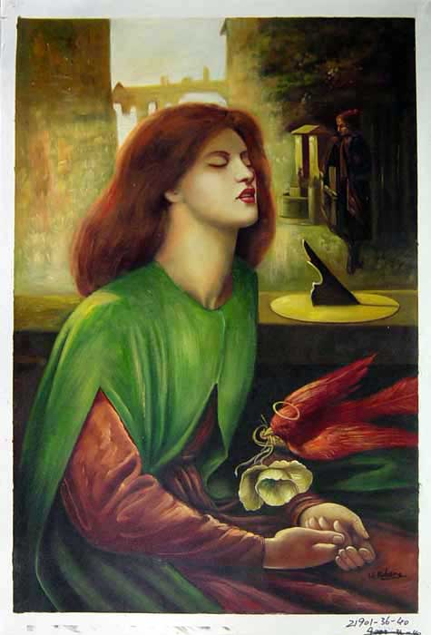 S121901 Dante Gabriel Rossetti Paintings oil paintings for sale