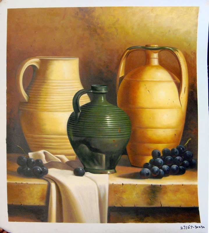 Painting Code#S127167-Still Life Painting