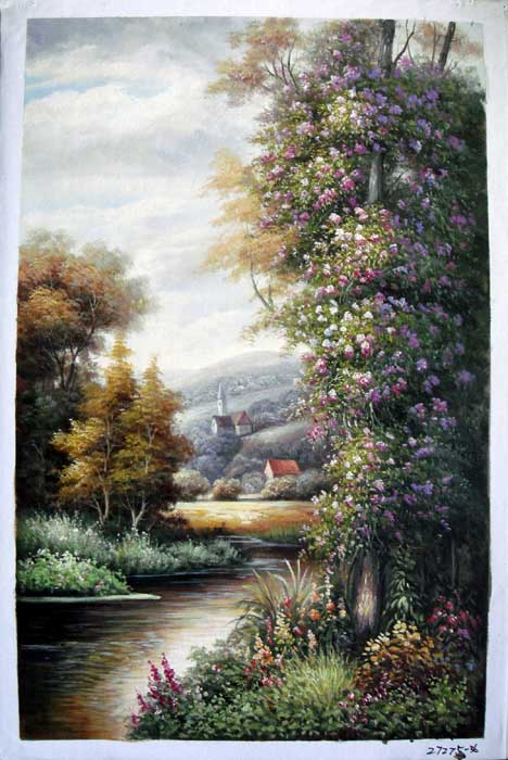 Painting Code#S127275-European Landscape Painting