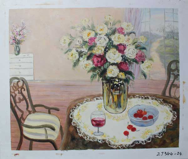 Painting Code#S127344-Floral Still Lifes