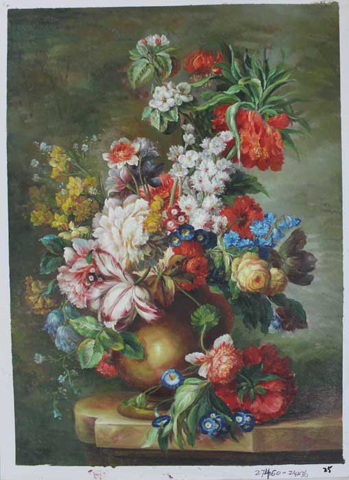 Painting Code#s127460-Floral Still Life Painting