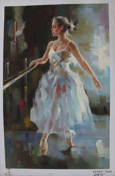 Painting Code#s127471-Danceing Girl Painting